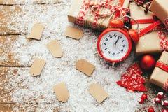 Concetto di vendita di inverno Fotografia Stock