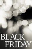 Concetto di vendite di Black Friday Fotografia Stock Libera da Diritti