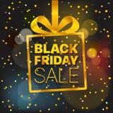 Concetto di vettore di vendita di Black Friday Annerisca venerdì Fotografie Stock Libere da Diritti