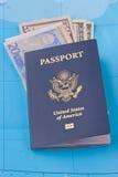Concetto di viaggio Fotografie Stock Libere da Diritti