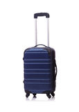 Concetto di viaggio con il suitacase dei bagagli isolato Immagine Stock