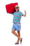 Concetto di viaggio di turismo isolato Fotografia Stock Libera da Diritti