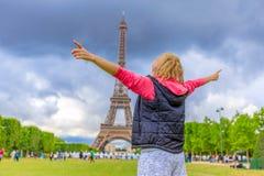 Concetto di viaggio di Parigi Immagini Stock