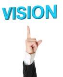 Concetto di visione. Fotografia Stock Libera da Diritti