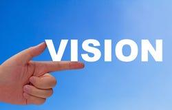 Concetto di visione di affari Fotografia Stock