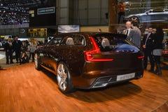 Concetto di Volvo es al salone dell'automobile di Ginevra Fotografia Stock