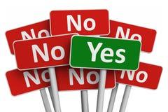 Concetto di voto Fotografia Stock Libera da Diritti