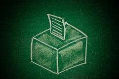 Concetto di voto Immagini Stock