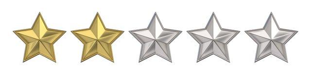 Risultati immagini per due stelle su cinque