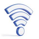 Concetto di Wi-Fi illustrazione di stock
