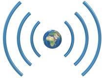 Concetto di Wifi. Fotografie Stock Libere da Diritti