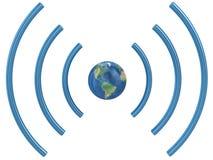 Concetto di Wifi. Fotografia Stock