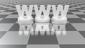 Concetto di WWW Fotografia Stock