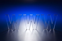 Concetto di WWW Fotografie Stock