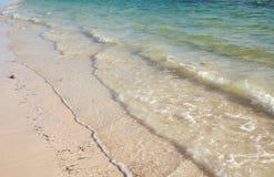 Concetto di zen del fondo della spiaggia Fotografia Stock Libera da Diritti