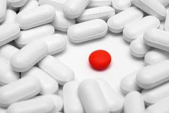 Concetto differente con le pillole Immagini Stock Libere da Diritti