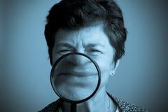 Concetto divertente di psicologia di felicità Immagine Stock Libera da Diritti