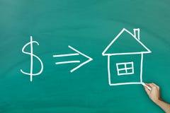 Concetto domestico di investimento Immagini Stock Libere da Diritti