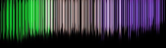 Concetto drammatico del fondo dell'acquerello di moto dell'arcobaleno illustrazione di stock