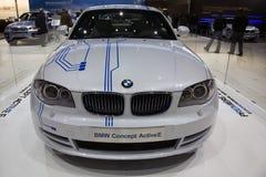 Concetto E attiva di BMW Fotografia Stock