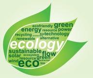 Concetto ecologico Immagine Stock