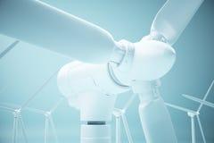Concetto ecologico di energia Fotografia Stock Libera da Diritti