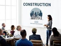 Concetto edificio di Real Estate di architettura Immagini Stock