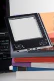 Concetto elettronico del libro Fotografia Stock