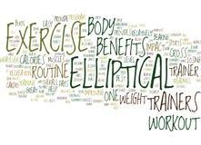 Concetto ellittico di Benefits Word Cloud dell'istruttore Immagine Stock Libera da Diritti