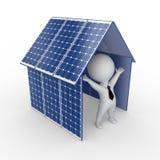 Concetto a energia solare royalty illustrazione gratis
