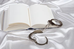 Concetto erotico del romanzo del bdsm Fotografie Stock