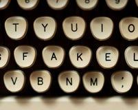 Concetto falso di notizie Fotografia Stock