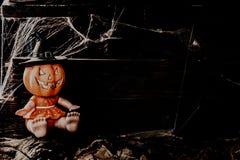 Concetto felice di Halloween Trucco o ossequio fotografie stock libere da diritti