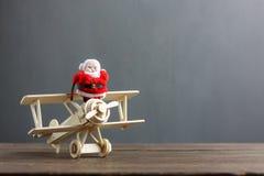 Concetto festivo di Buon Natale & del buon anno della decorazione Fotografia Stock