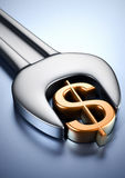 Concetto finanziario Fotografia Stock