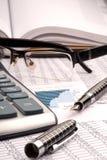 Concetto finanziario. Fotografia Stock Libera da Diritti
