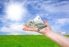 Concetto finanziario Fotografia Stock Libera da Diritti