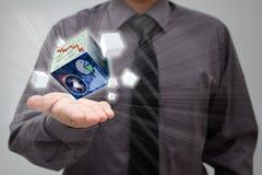 Concetto finanziario Fotografie Stock Libere da Diritti
