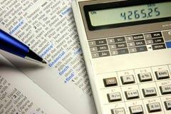 Concetto finanziario Fotografie Stock