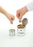 Concetto finanziario di formazione Fotografia Stock