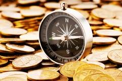Concetto finanziario - traversando nei periodi difficili Fotografia Stock