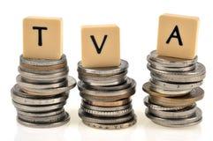 Concetto francese dell'IVA royalty illustrazione gratis
