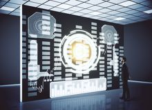 Concetto futuristico Immagine Stock