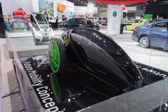 Concetto futuro di mobilità di Toyota FV2 Immagini Stock