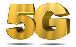 concetto 5G Immagine Stock
