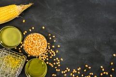 Concetto geneticamente modificato dell'alimento del cereale Immagine Stock Libera da Diritti