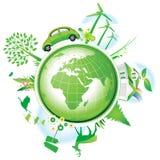 Concetto globale di conservazione. Immagini Stock Libere da Diritti