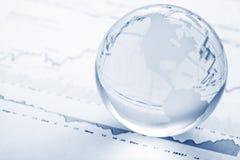 Concetto globale di investimento Immagine Stock Libera da Diritti