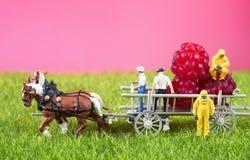 Concetto inquinante chimico o radioattivo di GMO, dell'alimento Immagine Stock Libera da Diritti