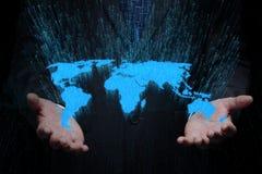 Concetto internazionale di affari Immagini Stock Libere da Diritti